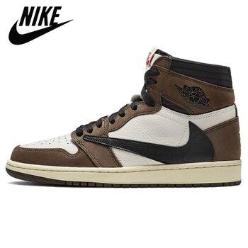 Authentic Original Nike Air Jordan Retro 1 Mid AJ1 TS Turbo Green Men Shoes Women Basketball Sneakers