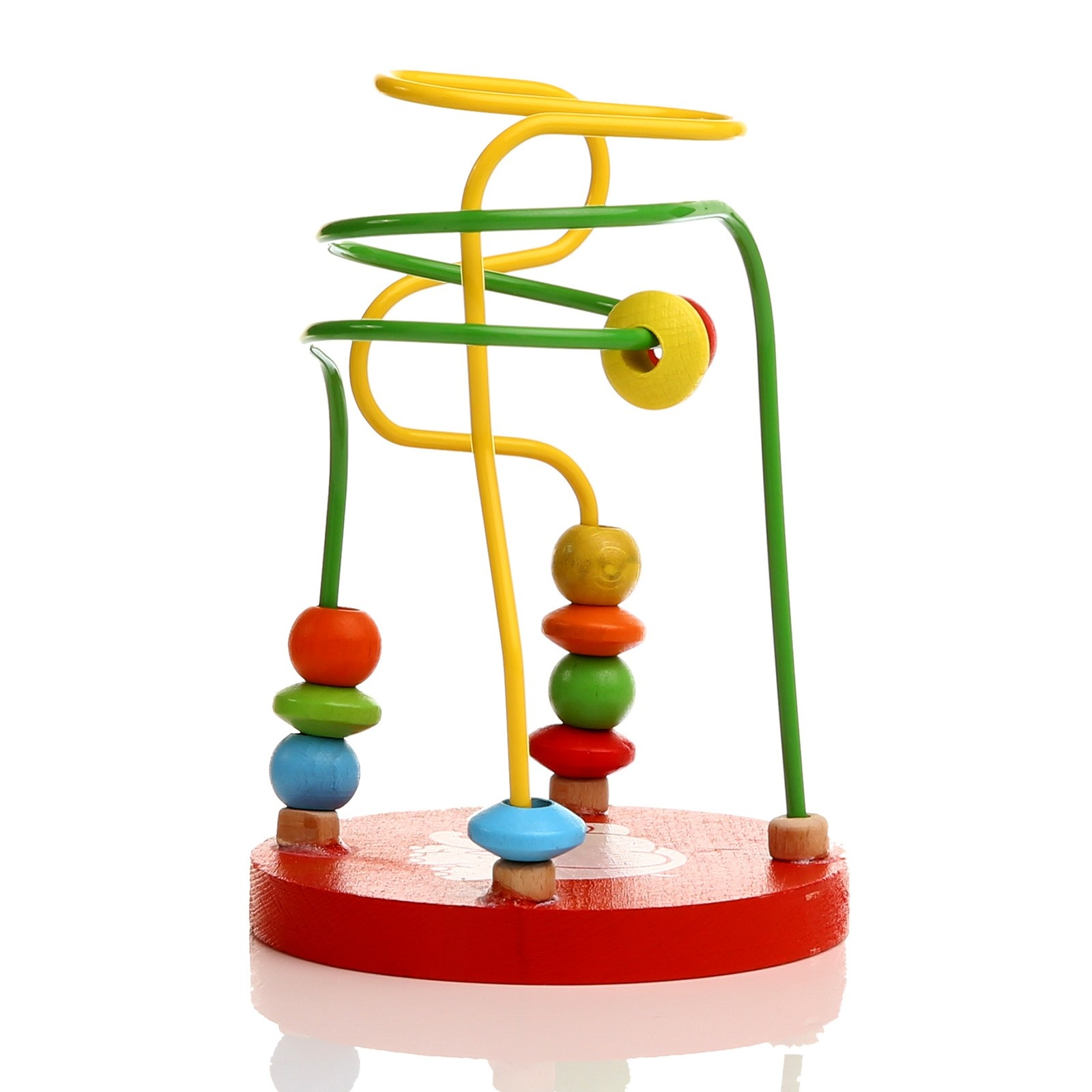 Ebebek Baby Toys Wooden Baby Mini Coordination Game