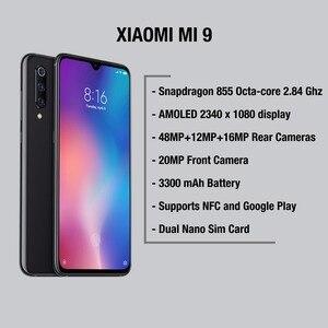 Image 3 - Глобальная версия Xiaomi Mi 9 64 Гб rom 6 Гб ram (абсолютно новая и запечатанная) Mi9 Мобильный смартфон, телефон, смартфон