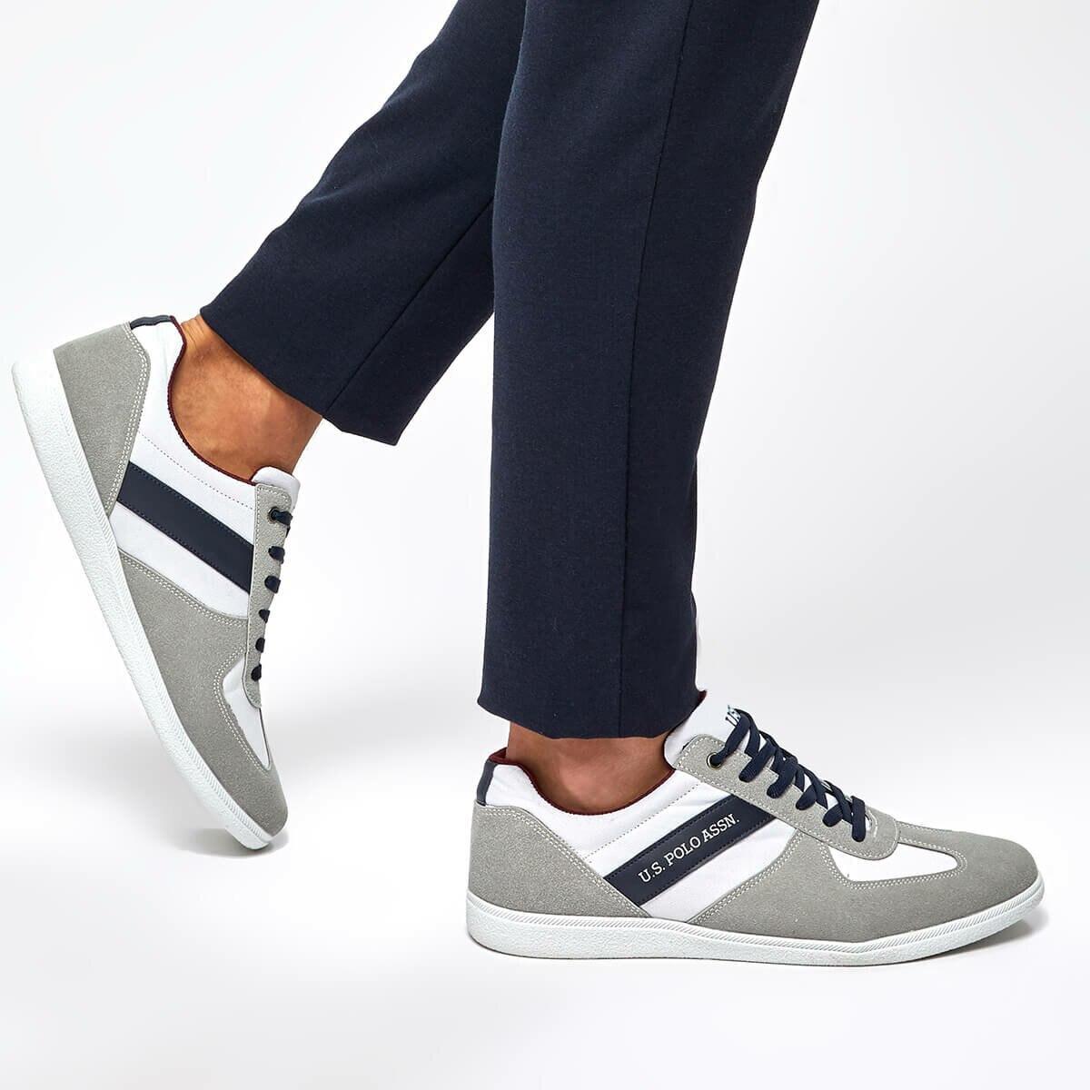 FLO VARIAL White Men 'S Sneaker Shoes U.S. POLO ASSN.