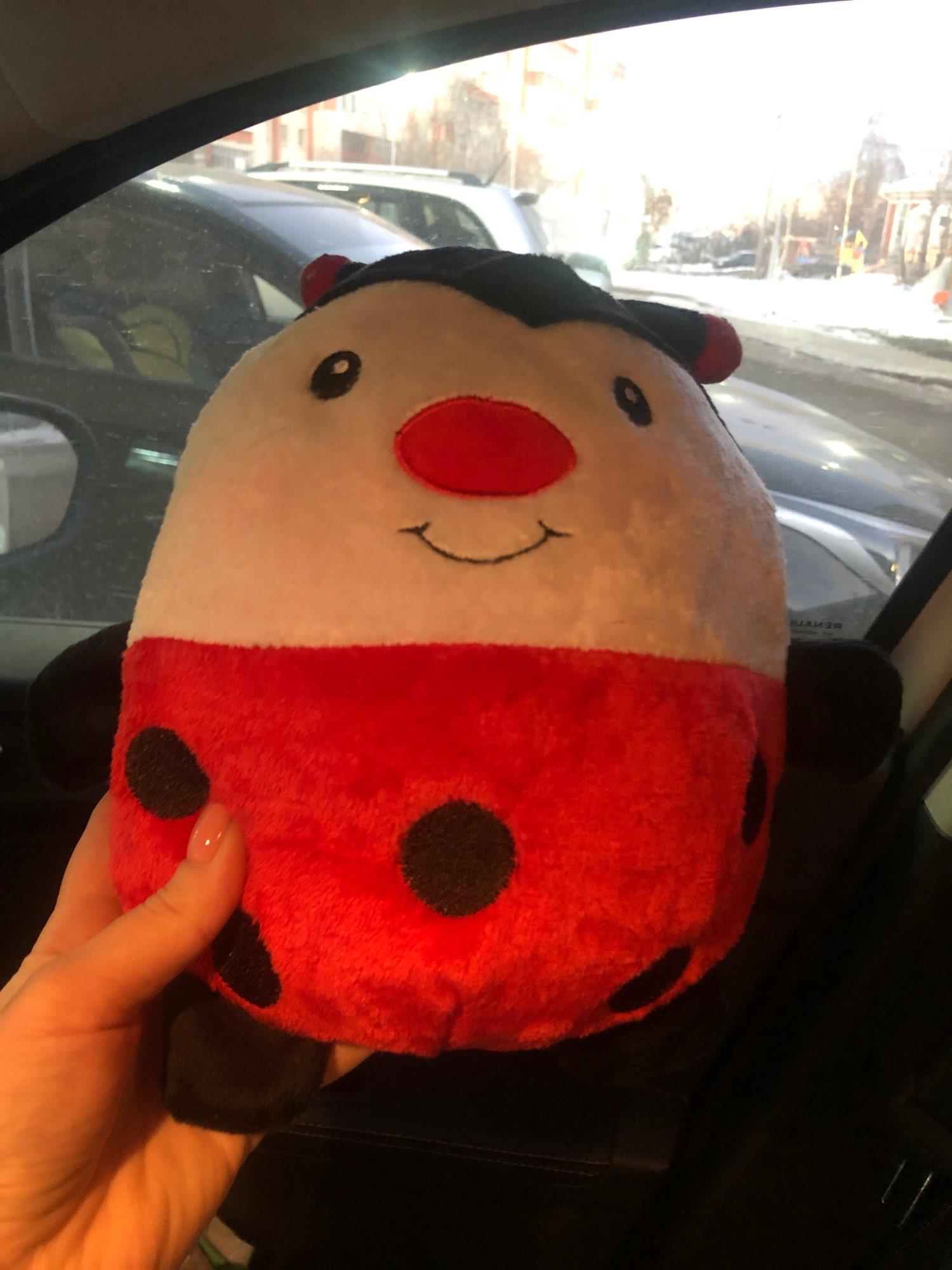 Ladybug Foldable Cuddle Hoodie
