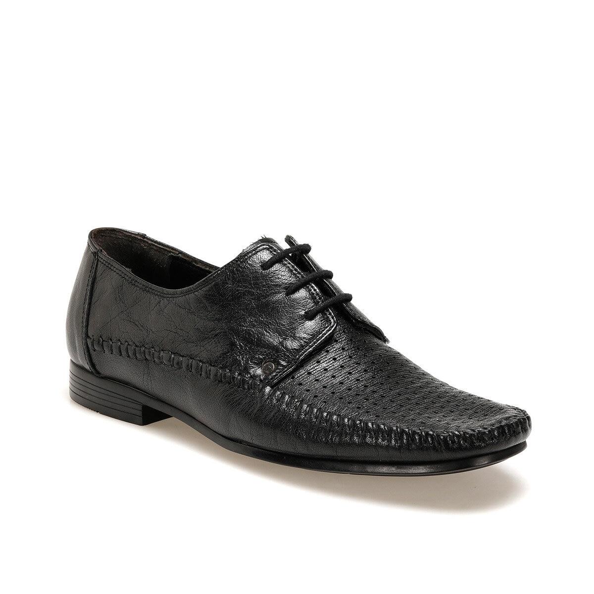 FLO 125 Black Men Dress Shoes Garamond