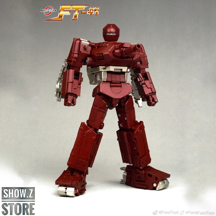 [Show.Z Store] FansToys Fans Toys FT41 FT-41 Sheridan Warpath Masterpiece Transformation Action Figure