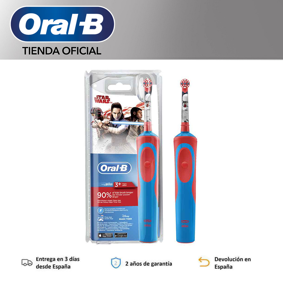 Oral-B Vitality KIDS Frozen, Star Wars Plus Box, Stages, Oral electric toothbrush B, for children, up to 8 days use