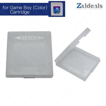 Futerał na grę dla Game Boy na Nintendo Cart GBC zapasowy przezroczysty pojemnik na kasety tanie i dobre opinie zxldeals CN (pochodzenie) GameBoy