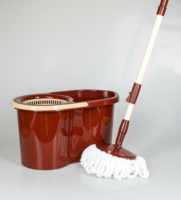 Mop With Lazy Spin Noozle For Cleaning House Cleaning Floor Home