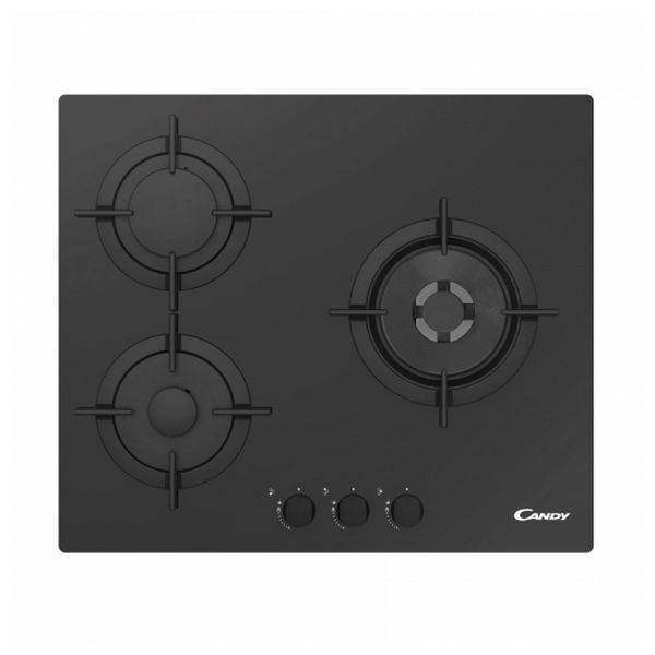 Gas Hob Candy CVG 63 SQPN 60 Cm 60 Cm (3 Stoves)