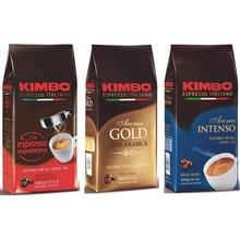 Lot de Café en Grains Kimbo - (3 Paquets de 1 kg) -expresso napolitain ou 100% Arabica arôme Intense