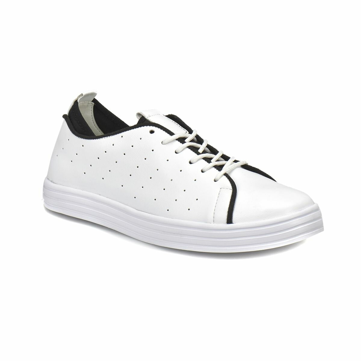 FLO CS18030 White Women 'S Sneaker Shoes Art Bella