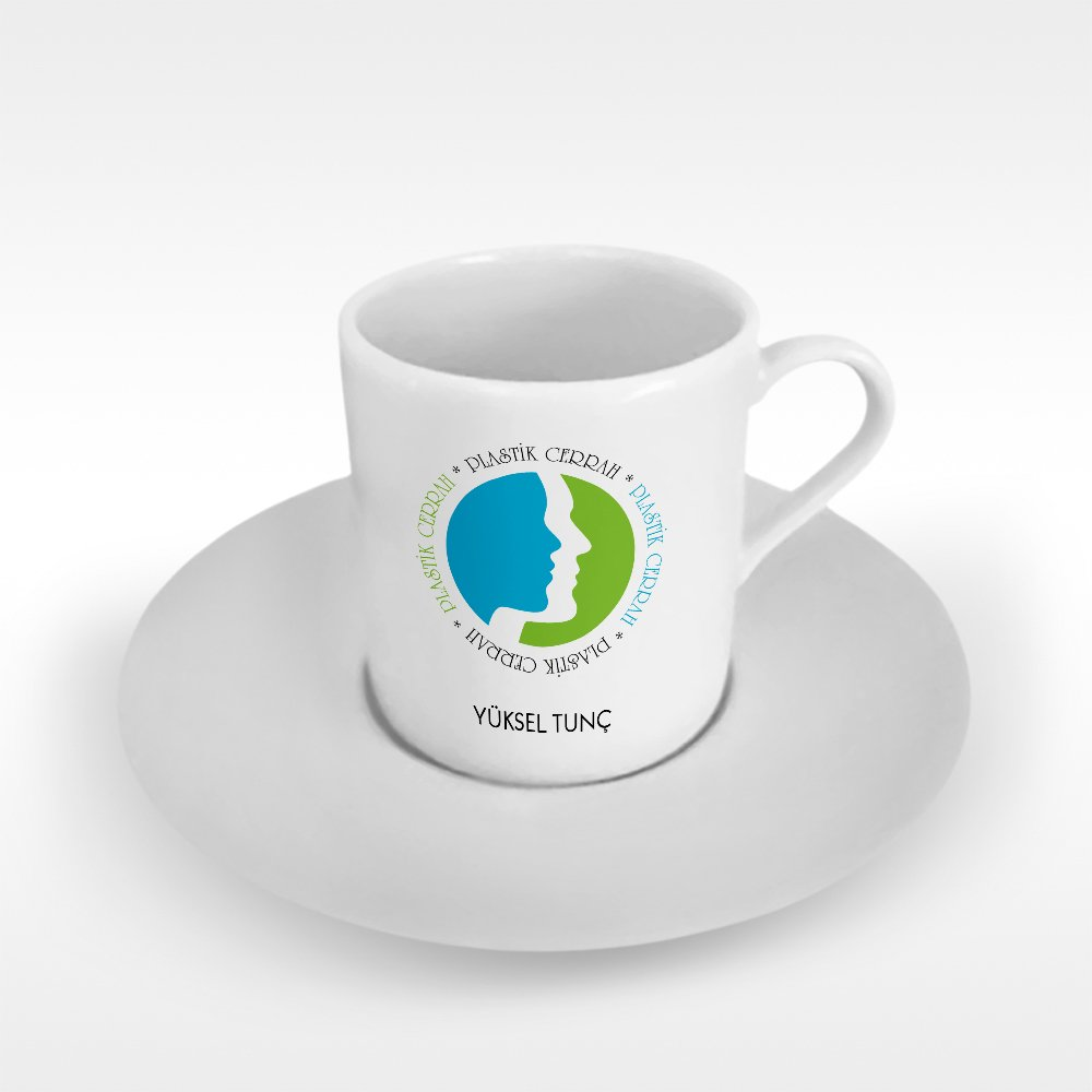 Personalized Professional Plastic Surgeon Turkish coffee Cup image