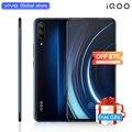 Авторизованный мобильный телефон vivo celular iQOO 6,41 дюймовый большой экран Android 9 Snapdragon 855 NFC 4000mAh 44W быстрая зарядка мобильного телефона