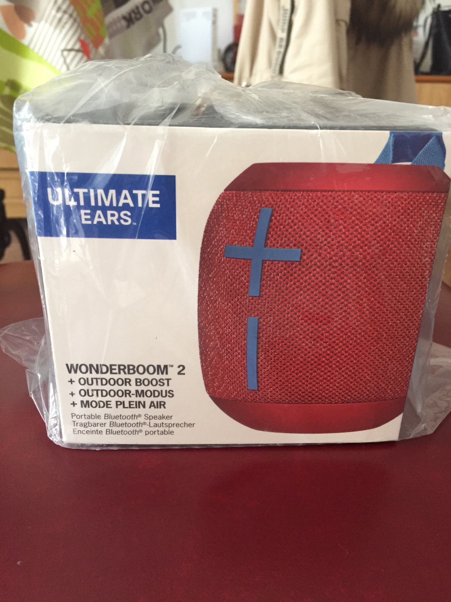 Logitech Ultimate  WONDERBOOM 2