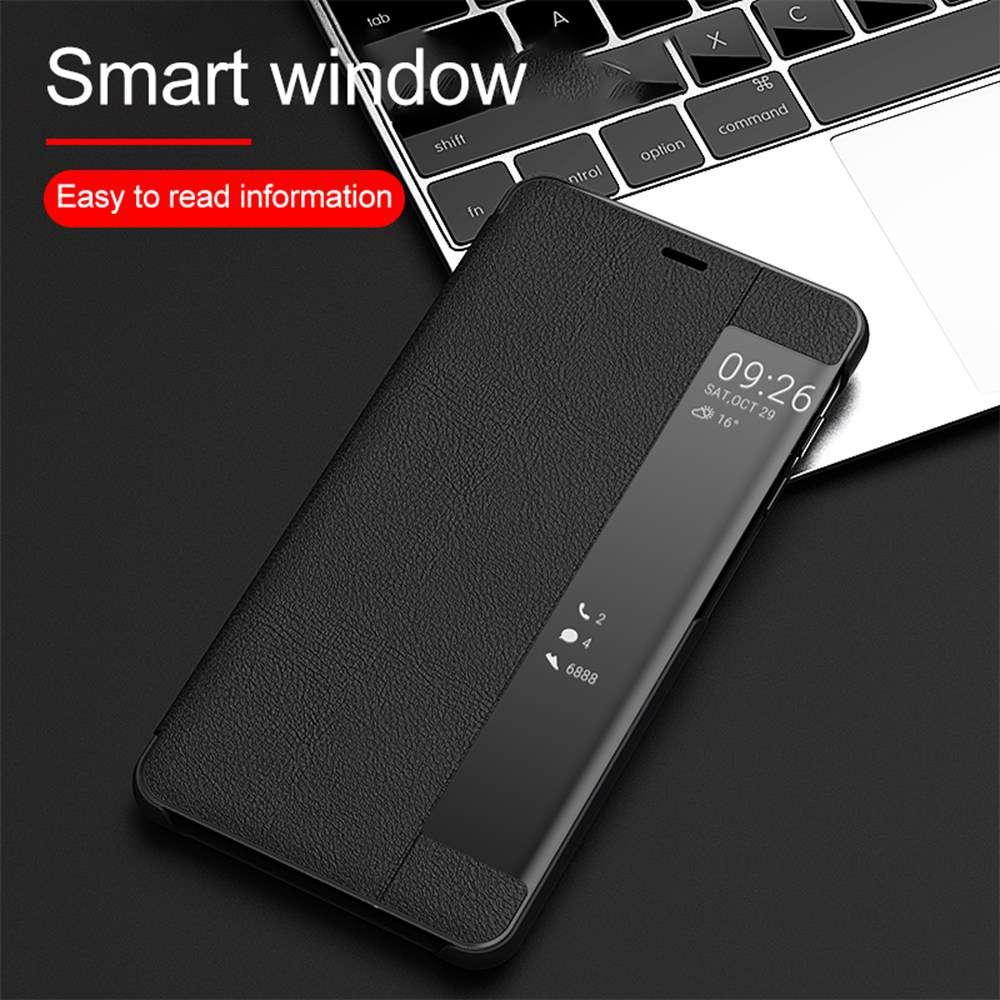 KISSCASE Smart Window View Case For Samsung S20 Plus S20 Ultra A51 A71 A91 Note10 S10 Lite S8 S9 S10 S20 S10E Flip Leather Cover