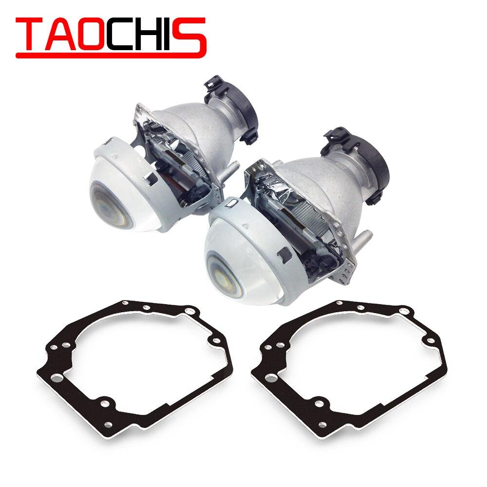 TAOCHIS Car Styling Transition Frame Adapter Hella 3R G5 Projector Lens Retrofit Bracket For SUBARU LEGACY OUTBACK IV B13