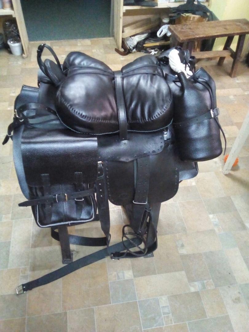 Kit Saddle казачьего With Full вьюком (дорожными Bags)