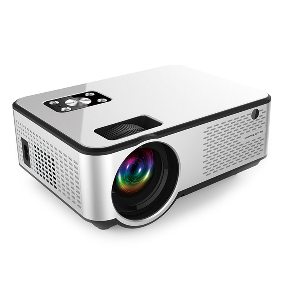C9 Newest WIFI Android Projector 1280*720P Support 4K Videos Via HDMI Home Cinema Movie Video Projector