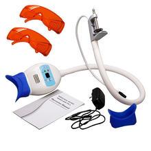Dentes frios dental máquina de clareamento luz lâmpada cadeira dental lâmpadas luz eua/plug ue