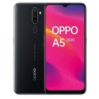 Oppo telefone a5 (2020)  cor preta (preto)  64 gb de memória interna 3 gb ram  tela hd + 6.5