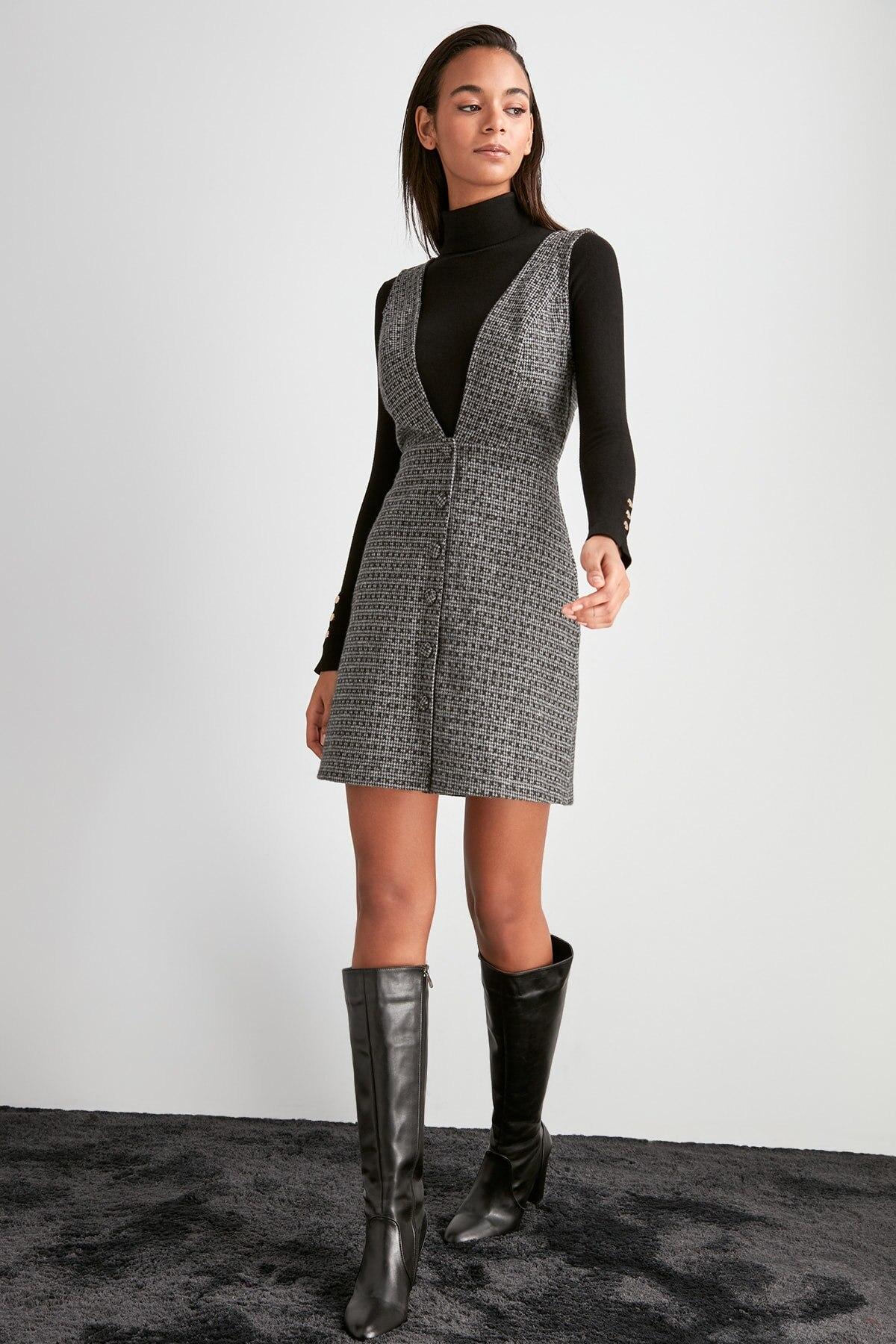 Трикотажное платье TWOAW20EL2099 Платья      АлиЭкспресс