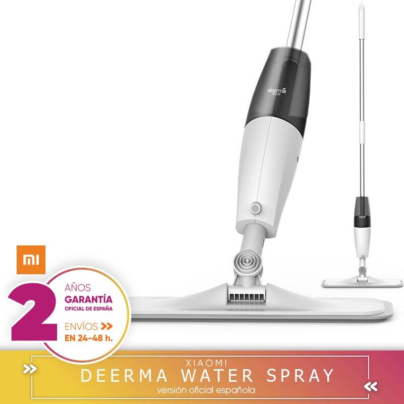 Xiaomi Deerma Água Spray propósito limpador de chão mop 360 Haste Rotativa ferramentas limpas fio com fibra de Carbono