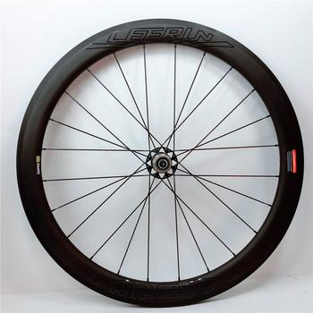 3 lata gwarancji 38mm 50mm drogowe karbonowe koła do roweru 700C 25mm szerokości Clincher bezdętkowe rurowe wyścigi rowerowe prędkość węglowe koła et tanie i dobre opinie LEERUN 20-24 h CARBON V hamulca Rowery drogowe