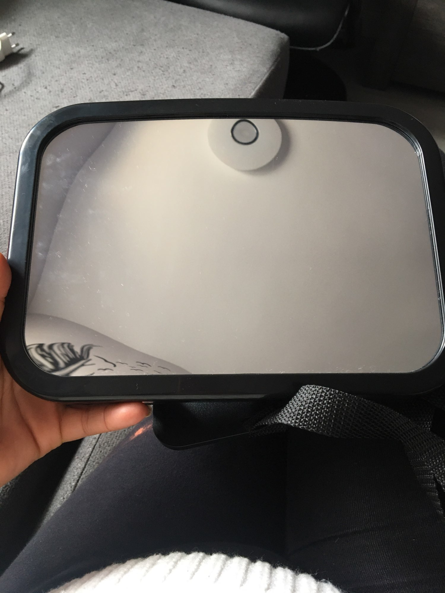 Adjustable Rear Seat View Mirror Baby photo review