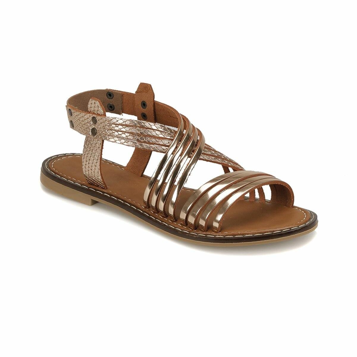 FLO DS18125 Bronze Women 'S Sandals Miss F