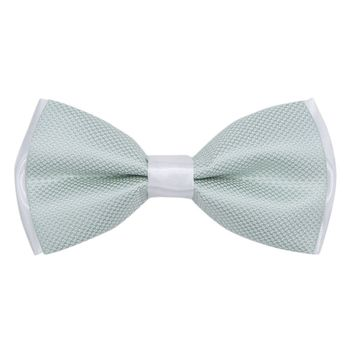 Bow tie for men (green, microfiber) 56023