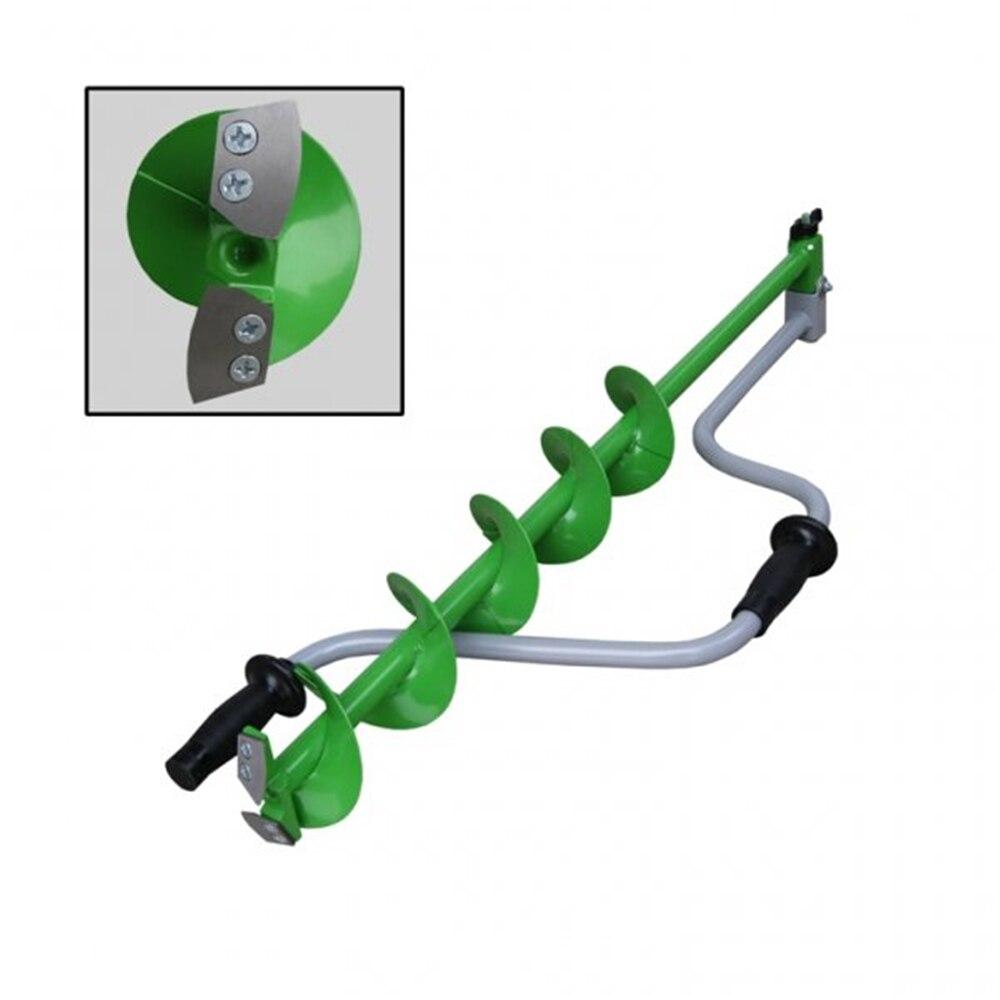 Ice Screws TONAR For Winter Fishing HELIOS 110D, Fishing Drill On Ice. Двуручный Left Rotation. Easy Corer For Ice Fishing