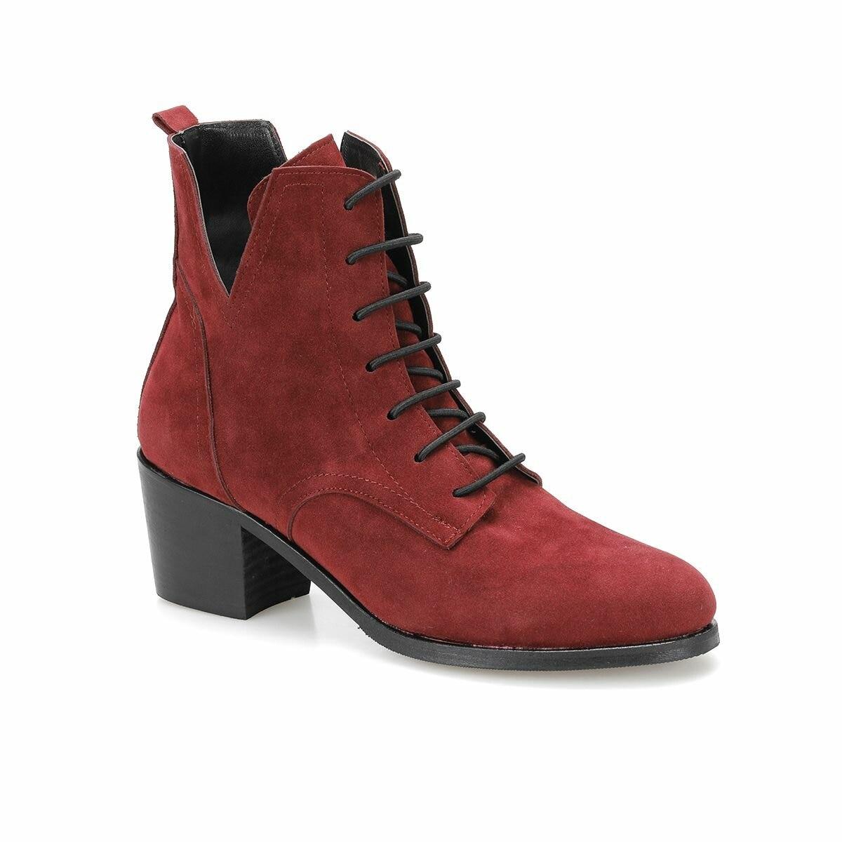 FLO OSGOOD31Z SKIN Maroon Women 'S Boots BUTIGO