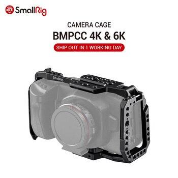 цена на SmallRig BMPCC 4K / 6K Camera Full Cage for Blackmagic Design Pocket Cinema Camera 4K & 6K (New Version) 2203B