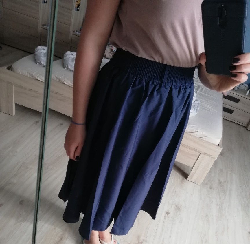 Midi Knee Length Summer Skirt Women With Belt Fashion Korean Ladies High Waist Pleated A Line School Skirt Female photo review