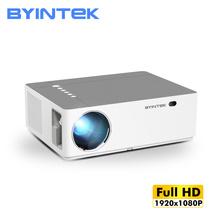 BYINTEK K20 1920*1080P pełna gra HD LED wideo inteligentny Android Wifi 300 calowy Projektor kina domowego Projektor Beamer tanie tanio Korekcja ręczna CN (pochodzenie) Projektor cyfrowy 16 09 150W Brak 500 ANSI lumens System multimedialny 1920x1080 dpi 500ANSI Lumens