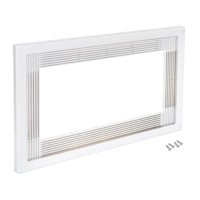 Frame Emuca To Fit Microwave In White Plastic