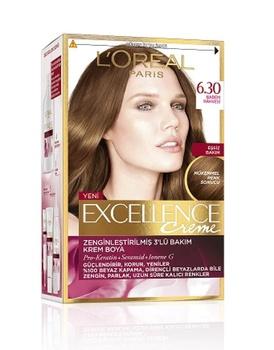 Loreal Excellence farba do włosów 6 30 kawa migdałowa 247229347 tanie i dobre opinie