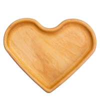 Big baby plate heart wood beech, dishes for children eco friendly dishes, dishes of wood