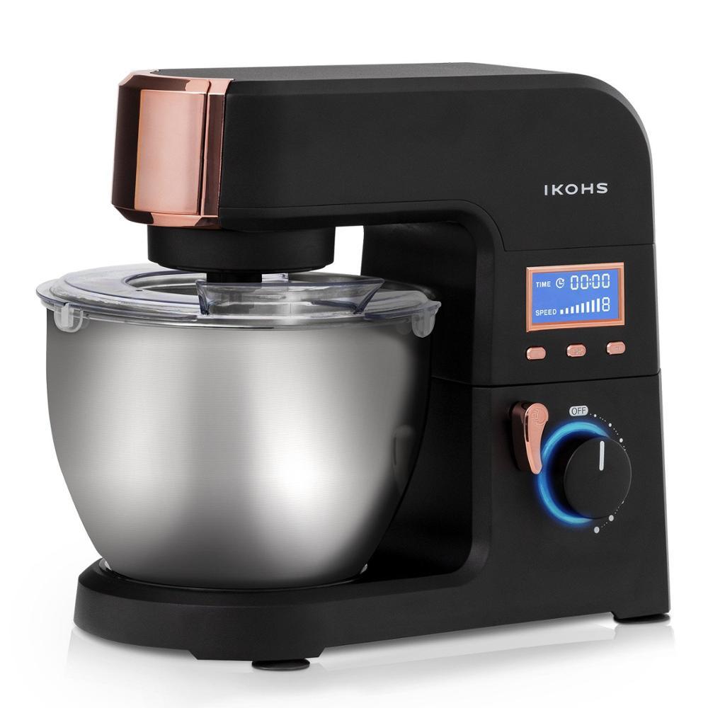 IKOHS KING MASH Food Mixer Bowl Aluminum 5.5L 1500W 8 Speeds Digital High Cooker Super Silent Support Professional Blender