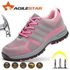 Women Safety Shoes W...