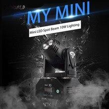DJWorld – projecteur lumineux LED 10W/40W à tête mobile, éclairage de scène Disco Disco Disco Disco