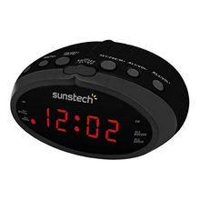 Часы-радио Sunstech FRD16BK черные