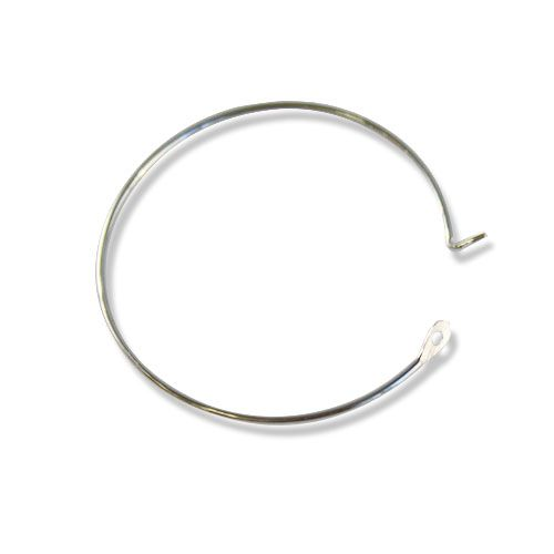 Ot1513 Ring With Lock, 0,7*25mm, 4 Pcs/pack (Silver)