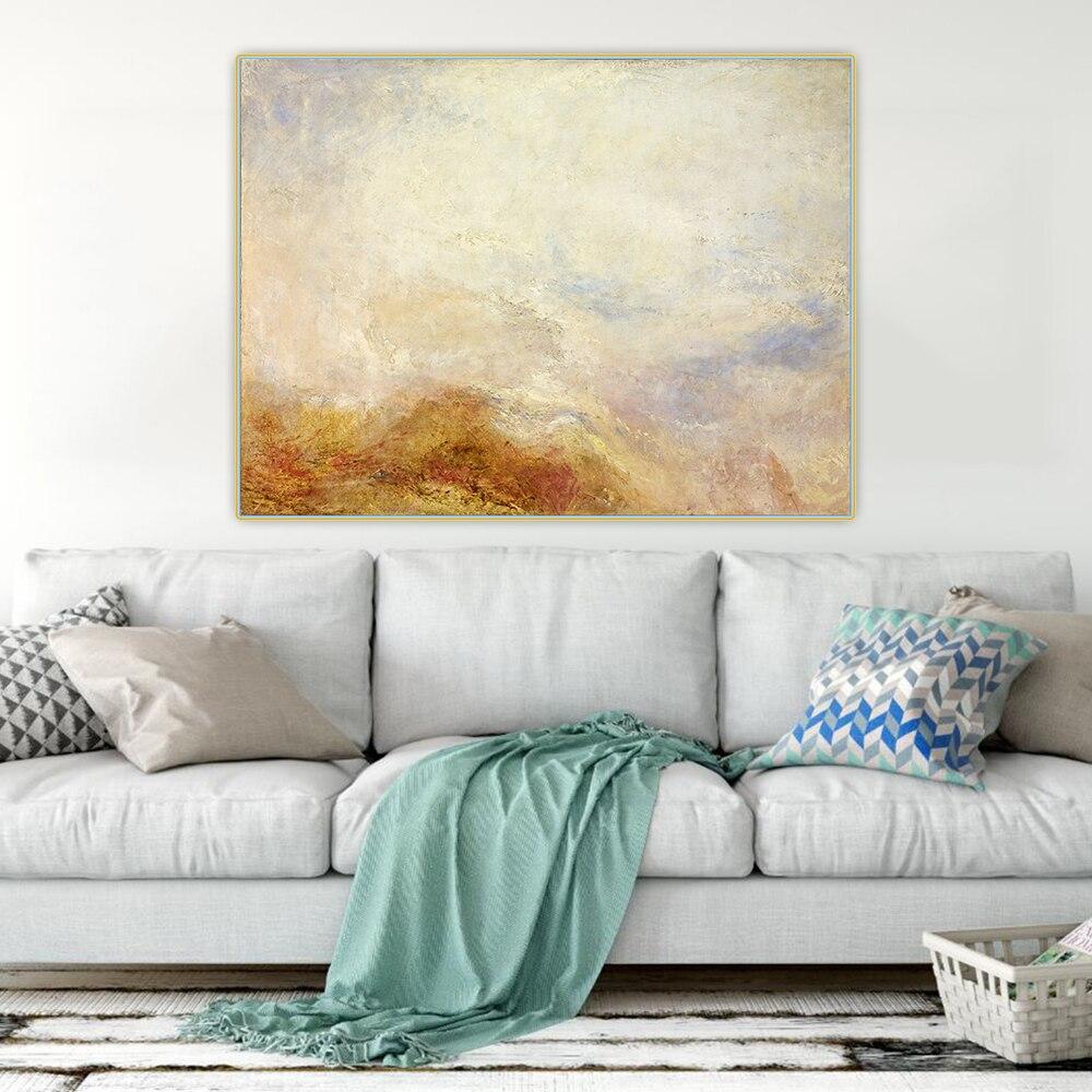 Holover pintura a óleo da lona william turner