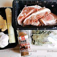 红烧香辣猪蹄肉的做法图解1