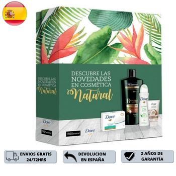 Set de regalo para mujer Shampoo 400ml + Desodorante 150ml + Crema...