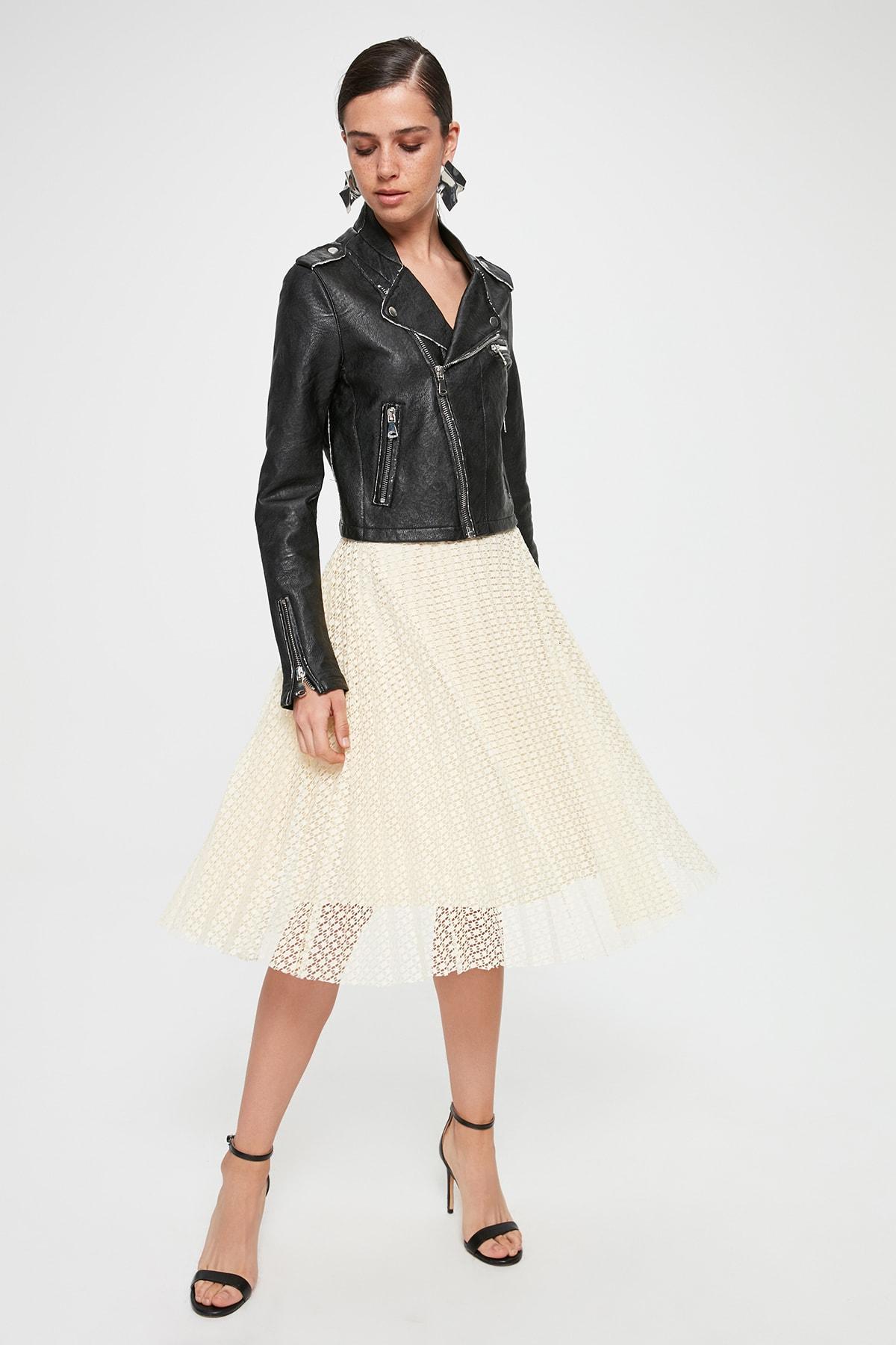 Trendyol Piliseli Lace Skirt TPRAW20ET0626