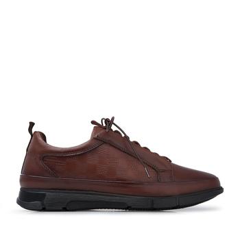 Marcomen buty skórzane buty męskie 15210401 tanie i dobre opinie Prawdziwej skóry Gumowe