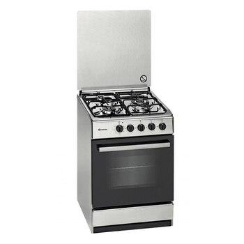 Fogão a gás meireles e541x 55 cm de aço inoxidável (3 fogões)