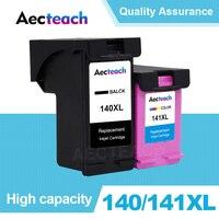 Aecteach совместимый 140 141 XL чернильный картридж Замена для HP 140 141 Photosmart C4283 C4583 C4483 C5283 D5363 D4263 принтер
