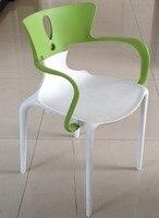 Armchair HANS  polypropylene White Green| |   -