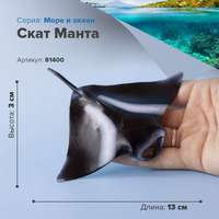 Sea animal figures ocean Figurine Stingray manta ray children's collectible toy model game set figurine